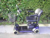 GOGO ELITE TRAVELLER mobility scooter, 21 stone capacity, good condition