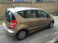 CHEAP 2005 MERCEDES A CLASS 1.5 A150 ELEGANCE ( FULL LEATHER) £1595 ONO