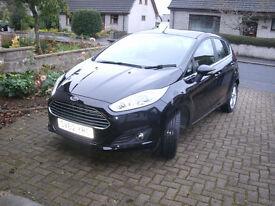 Ford Fiesta 1.25 Zetec 5 door black 2012 New Style