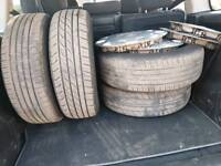 Vauxhall steel wheels 5x110