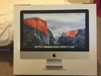 "Apple iMac MK442B/A 2.8GHz Processor 1TB 21.5"" Full HD Silver Brand New Unopened 2016 £900"
