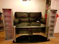 Tv unit and dvd/cd storage