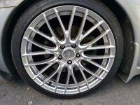 """Inovit 19"""" 5x114 wheels with 225/40/19 tyres"""