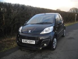 Peugeot 107 Active, long MOT, only 34621 miles, economical to run