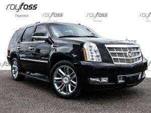 2012 Cadillac Escalade Platinum 22whls Nav Roof Pwr Boards