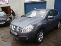 Nissan QASHQAI Acenta dci,5 door,6 speed,FSH,full MOT,nice clean Jeep,runs and drives well,38k