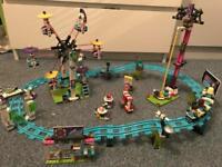 Lego friends- amusement park rollercoaster set