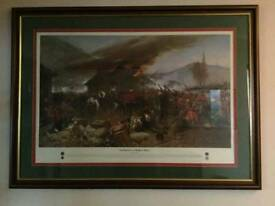 Large glass fronted picture if rourkes drift . 50 pound