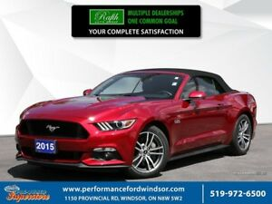 2015 Ford Mustang GT Premium ***Red leather, NAV, automatic***
