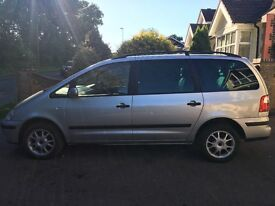 Ford Galaxy Zetec 2.3 Petrol Auto. 05 Plate Low Mileage. MOT may 2018. Excellent condition