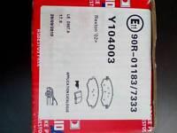 Ssangyong Rexton , Front brake pads. 2000-2004