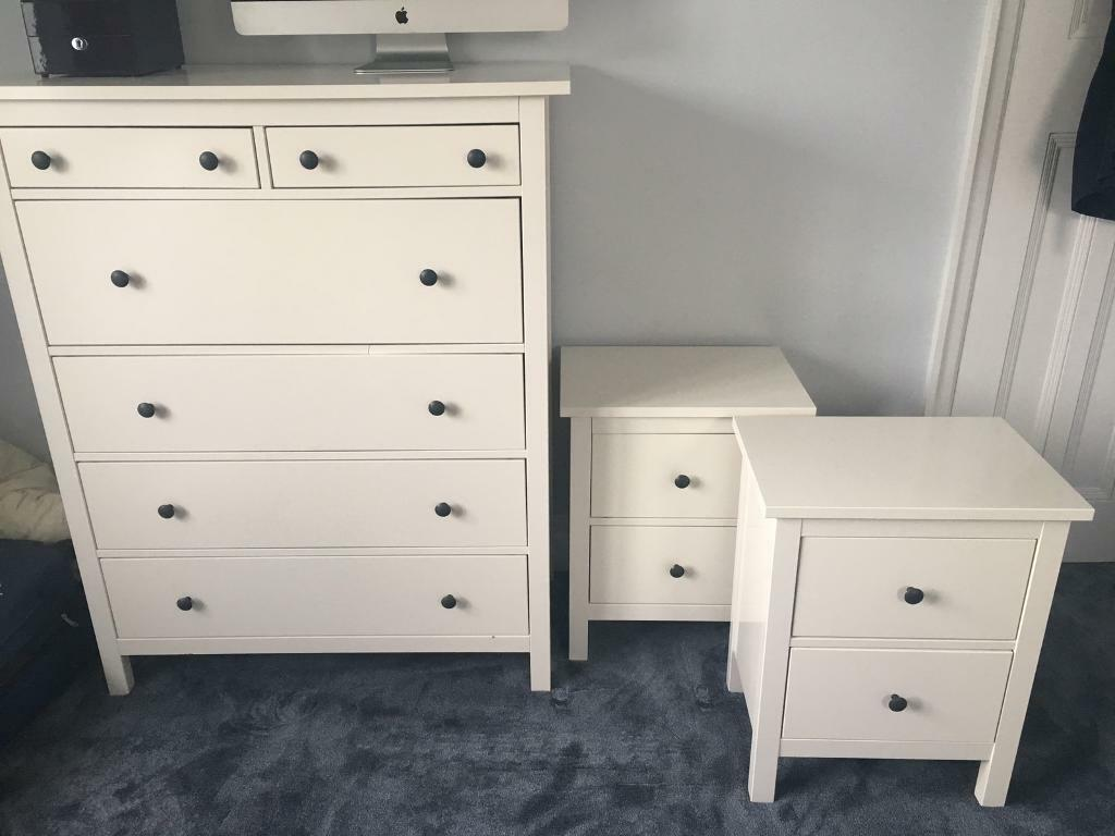 Sold subject to collection ikea hemnes bedroom for Ikea comodino hemnes