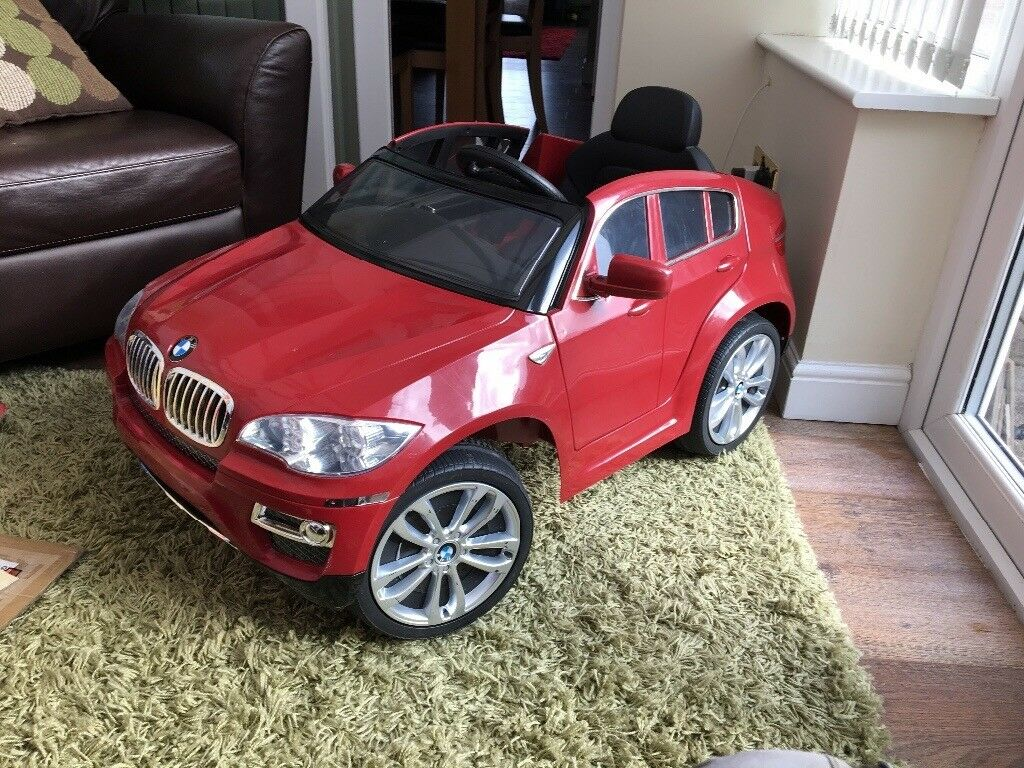 Red Bmw X5 6 V Battery Electric Car In Bedlington Northumberland