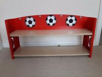 RED FOOTBALL BOOKSHELF