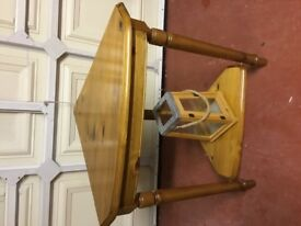 Ducal corner table, good condition ideal for phone or vase or lamp.