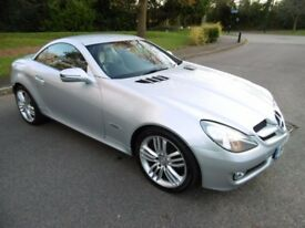 Mercedes SLK SLK200 KOMPRESSOR GRAND EDITION (briliant silver metallic) 2010
