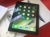 IPAD 4, 16GB, CELLULAR (Vodaphone), EXCELLENT, BOXED, CASE
