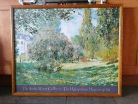 Beautiful large picture, painting print