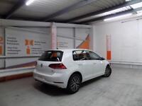 Volkswagen Golf SE NAVIGATION TSI BLUEMOTION TECHNOLOGY (white) 2017-10-02