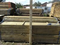 Timber fence post 75mmx75mmx2.4m