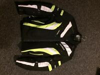PRO FIRST Textile motorbike gear Jacket and Trousers