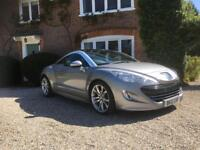 RCZ Peugeot 2012 only 29000 fsh top spec may px