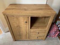 Next Oak veneer sideboard