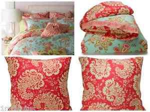 Coral Duvet Cover Ebay