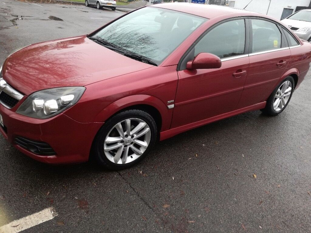 2008 Vauxhall Vectra automatic diesel car
