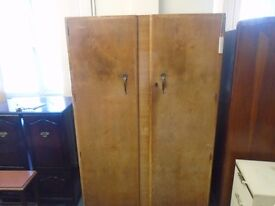 large vintage double wardrobe.