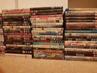100 DVDs to sell for £40.00 - COLLECTION