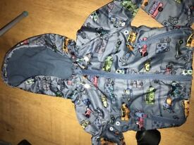 Boys showerproof rain jackets from Next-Age 12-18 months