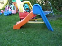 Little Tikes cozy Coupe and baby slide