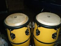 TOCA CONGAS / SNARE DRUM STAND / DRUM STOOL