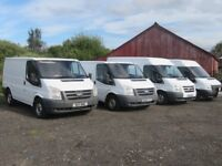 Ford Transits For Sale 2011-2013 Very Long Mots 12 Months Priced Very Well