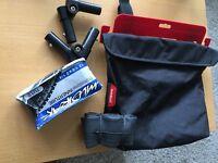 Phil & Teds Pram Adapters & Tyre pack & Bag