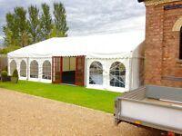 Wanted Marquee Erectors with Driving Licence