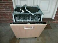 18 MONTH OLD GORENJE BUILT IN INTEGRAL DISHWASHER MINT CONDITION