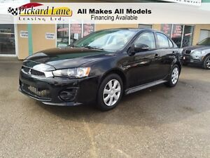2016 Mitsubishi Lancer $98.85 BI WEEKLY! $0 DOWN! CERTIFIED! DEA