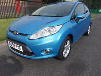 FORD FIESTA 1.4 ZETEC 3 DR VISION BLUE 2 KEYS BLUE TOOTH stunning open 7 days by appointement