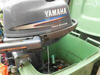 Yamaha 4HP 4 stroke engine short shaft.