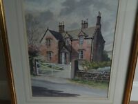 Watercolour by W.L. Fenner. Aug 92. 50 pounds ONO.