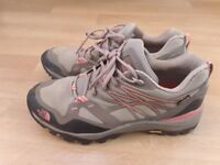 Women's North face hiking shoes