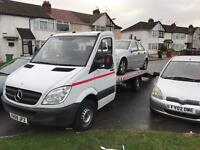 Mercedes sprinter recovery truck 2009