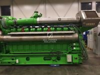 Used Jenbacher Generators