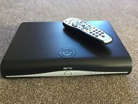 SKY HD BOX WITH REMOTE CONTROL AND CABLE