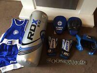 Rdx boxing set gloves/bag/pads/ect