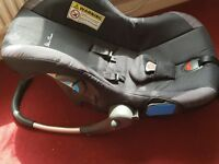Silver cross pram and car seat excellent condition