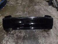 Genuine Bmw 3 series E46 Compact rear bumper Black 2003 PDC No Wires