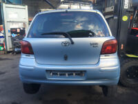 BREAKING - TOYOTA YARIS 2003 - ALL PARTS AVAILABLE